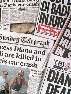 戴安娜王妃的死亡八卦