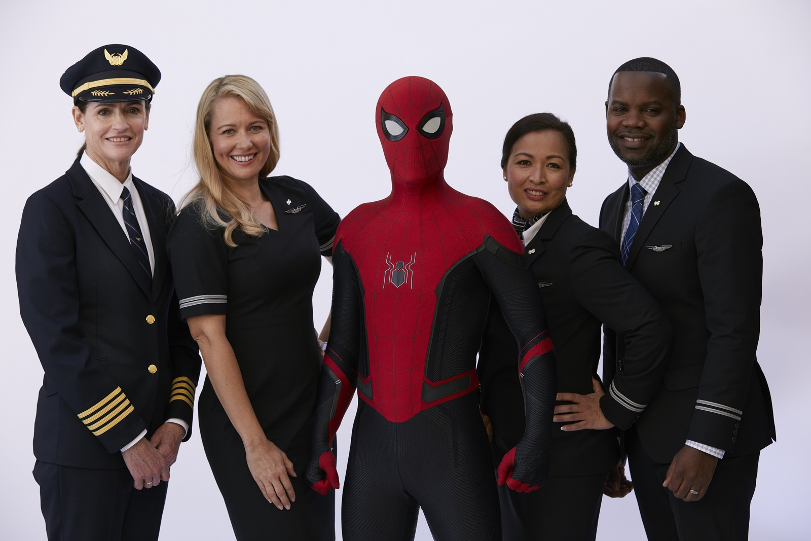 Spider-Man and United Crew