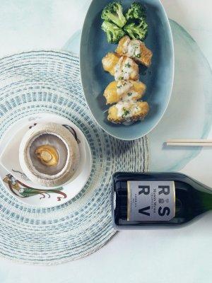 Dynasty Award-Winning Champagne Pairing Menu_close-up