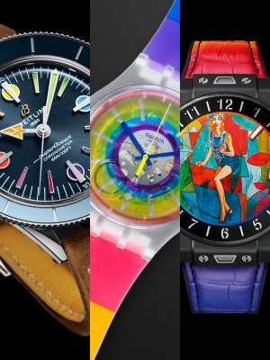 正能量爆登 盡是「彩虹腕錶」的事 (2)
