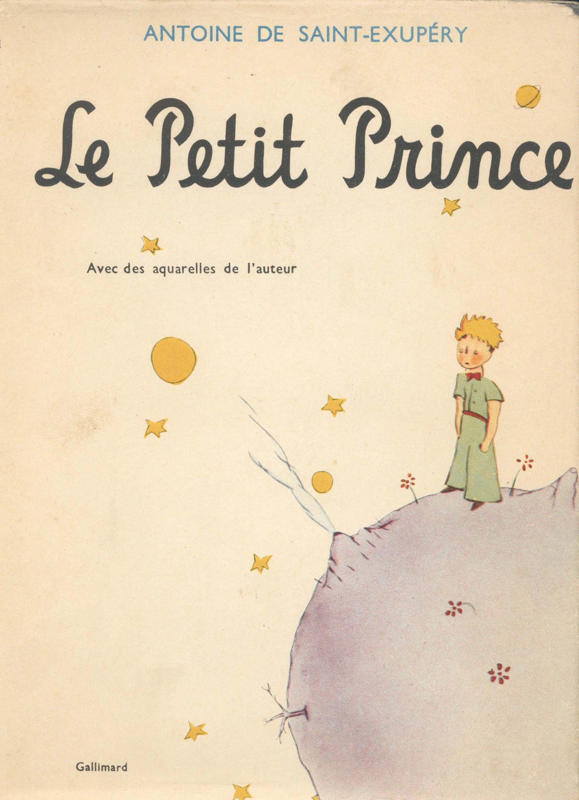 Le Petit Prince_1943_Original_Cover