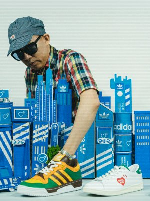 唔驚撞款系列 adidas Originals x HUMAN MADE (5)