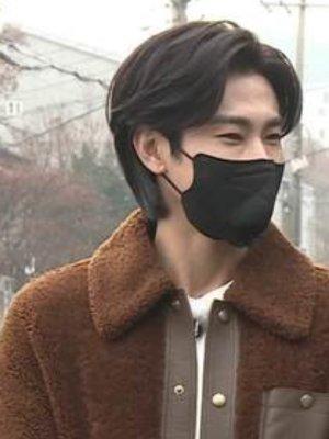 Korean K-pop Singer Jung Yun-ho wearing TOD'S FW20 Jacket 1