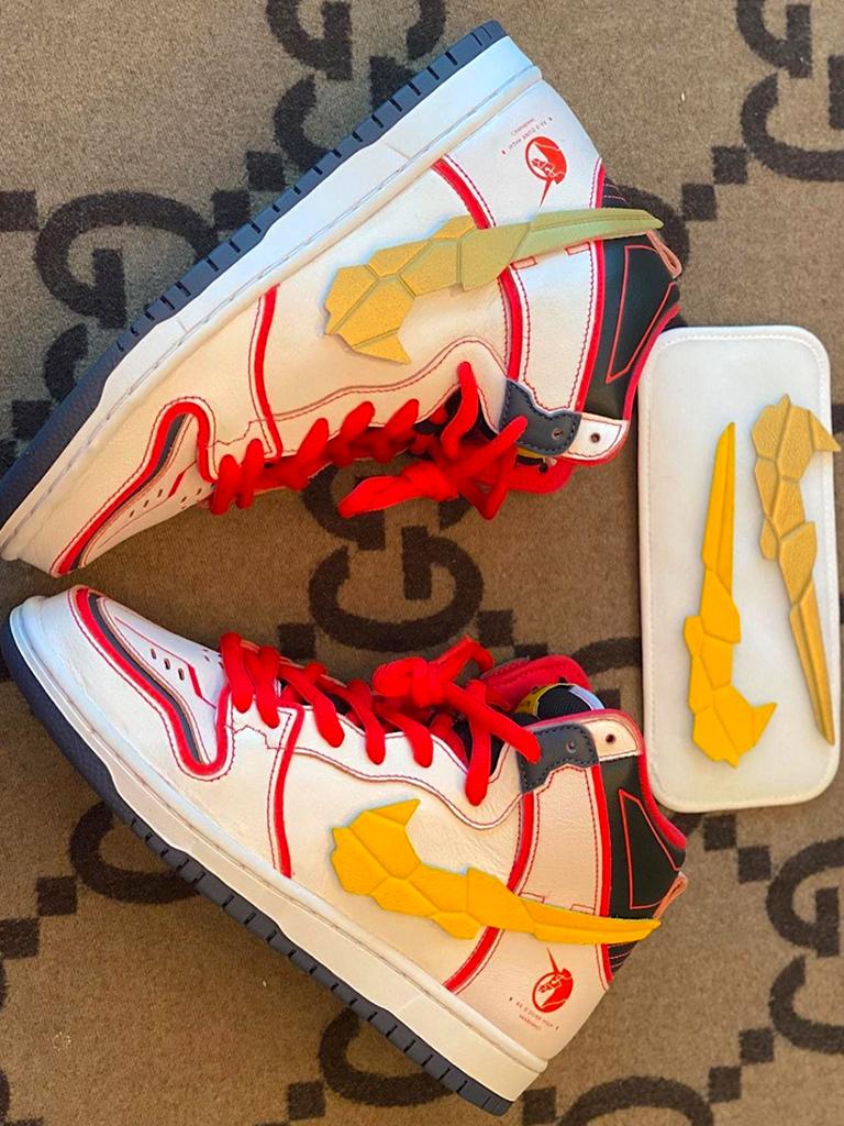 致敬《機動戰士鋼彈UC》丨Gundam x Nike SB Dunk High聯乘鞋款搶先預覽