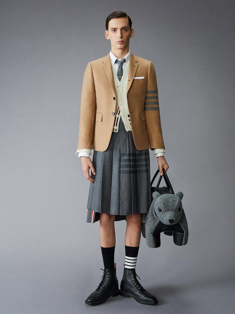 Thom Browne男裝裙首次擠身前十名丨時尚搜索引擎Lyst第二季熱門單品報告出爐